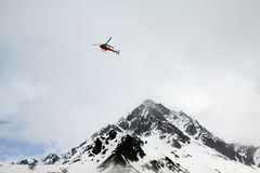 Salvataggio di elicottero Fotografia Stock