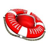 Salvataggio di salvataggio di aiuto Fotografia Stock