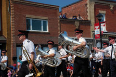 Salvation Army Band Royalty Free Stock Photography