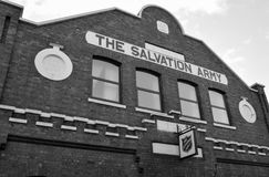 Salvation Army Barracks royalty free stock photo