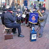 Salvation Army Brass Band Stock Photo