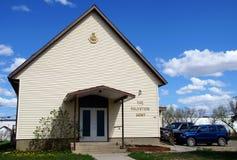 Salvation Army Church Alaska Highway Royalty Free Stock Photography