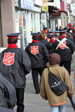 Salvation Army at Santa Claus Parade Toronto 2010 Stock Photography