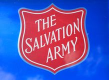 Free Salvation Army Shield At The Nastional Memorial Arboretum, Alrewas. Royalty Free Stock Photography - 121473427