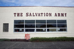 The Salvation Army. Tacoma Corps office building in Tacoma, Washington stock photography