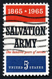 Salvation Army US Postage Stamp Stock Images