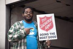 Salvation Army Volunteers Stock Image