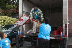 Salvation Army Volunteers Royalty Free Stock Images
