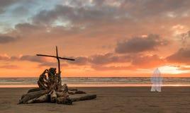Salvation Beach stock photo