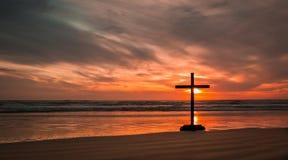 Salvation Beach Sunset Stock Photography