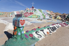 Salvation Mountain 1 Royalty Free Stock Photography