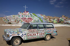 Salvation Mountain California Stock Photos