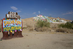 Salvation Mountain California Royalty Free Stock Image