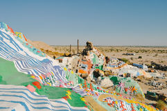 Salvation Mountain Stock Photo