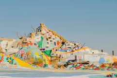 Salvation Mountain Stock Photography