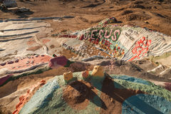 Salvation Mountain in California Royalty Free Stock Images