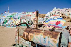 Salvation Mountain, Colorado Desert Royalty Free Stock Image
