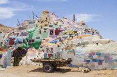 Salvation Mountain Stock Images