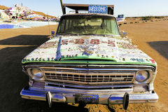 Salvation Mountain, Gods Car Royalty Free Stock Images
