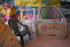 Salvation Mountain - Interior Stock Images