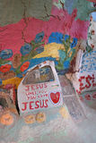 Salvation Mountain - Interior Royalty Free Stock Photos