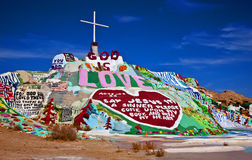 Salvation Mountain, Niland, California Stock Photos