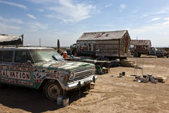 Salvation Mountain, Niland, California Royalty Free Stock Photo