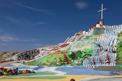 Salvation Mountain, Niland, California Royalty Free Stock Images