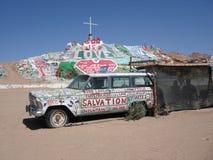 Salvation Mountain, Niland California. Salvation Mountain in Niland California: God is Love Royalty Free Stock Image