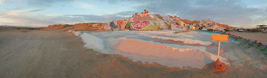 Salvation Mountain Panorama #2 Stock Photo