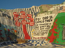Salvation Mountain prayers Stock Photos