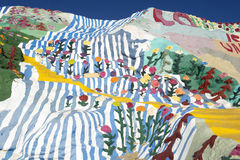 Salvation Mountain Royalty Free Stock Photography