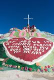 Salvation Mountain by Slab City Royalty Free Stock Photos
