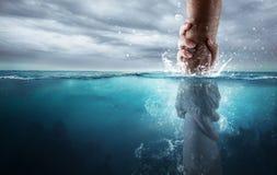 Salvato dall'annegamento Immagini Stock