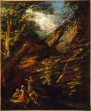 Salvator Rosa 4 obraz royalty free