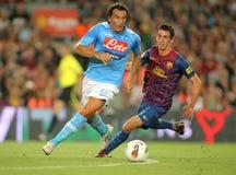 Salvatore Aronica de SSC Napoli Photos stock
