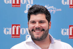 Salvatore Esposito al festival cinematografico 2016 di Giffoni Immagini Stock Libere da Diritti
