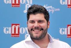 Salvatore Esposito en el festival de cine 2016 de Giffoni Imágenes de archivo libres de regalías
