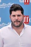 Salvatore Esposito en el festival de cine 2016 de Giffoni Fotos de archivo