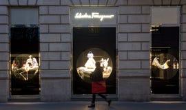 Salvatore Ferragamo-Shop Lizenzfreies Stockfoto