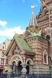 Salvatore su sangue San Pietroburgo Immagini Stock