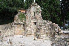 Salvatori di San di rovina della chiesa Fotografia Stock Libera da Diritti