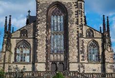 Salvatorkerk in Duisburg - Duitsland Royalty-vrije Stock Afbeeldingen