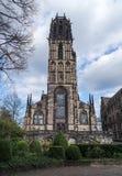 Salvatorkerk in Duisburg - Duitsland Stock Fotografie