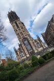 Salvatorkerk in Duisburg - Duitsland Stock Afbeelding