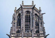 Salvatorkerk in Duisburg - Duitsland Royalty-vrije Stock Foto's