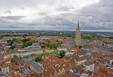 salvatorskathedraal Brugge sint Zdjęcia Royalty Free