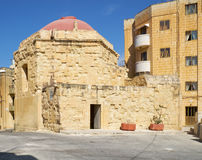The Salvatur Church. Kalkara. Malta Stock Photography