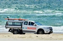 Salvavidas australianos en Gold Coast Queensland Australia Imagen de archivo