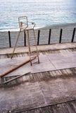 Salvavidas Chair de la playa Imagen del color Foto de archivo libre de regalías